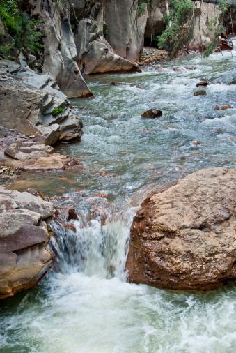 Uncompahgre River Stock Photo - Download Image Now