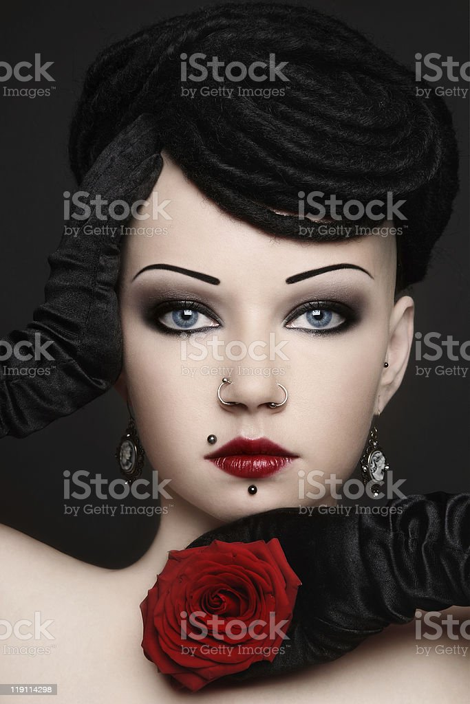 Unconditional beauty royalty-free stock photo