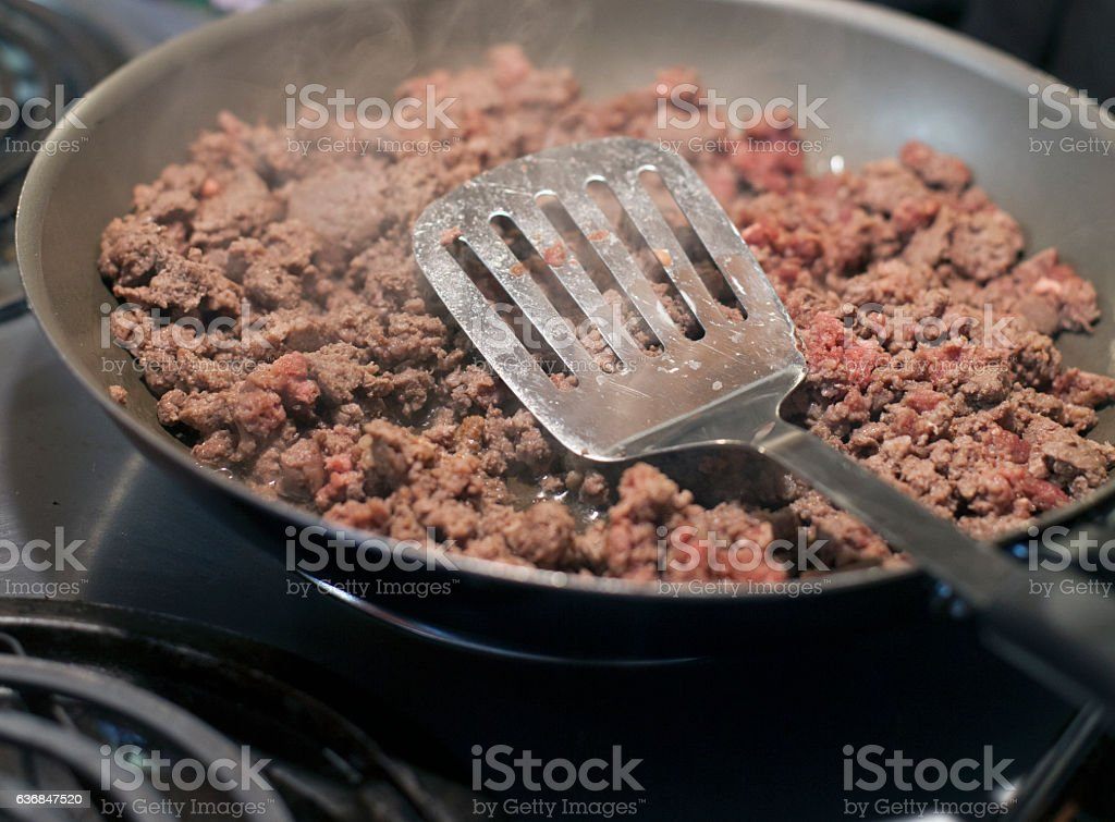 Uncooked Deer Meat stock photo