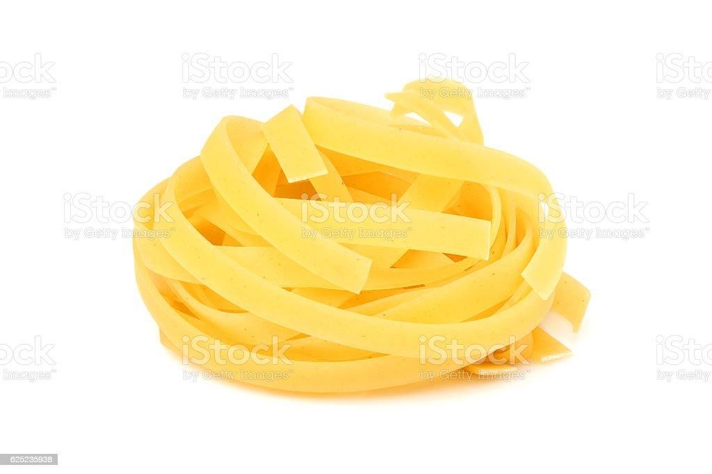 Uncooked pasta. stock photo
