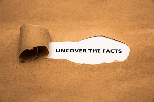 Uncover The Facts tornpaper information equipment stock pictures, royalty-free photos & images