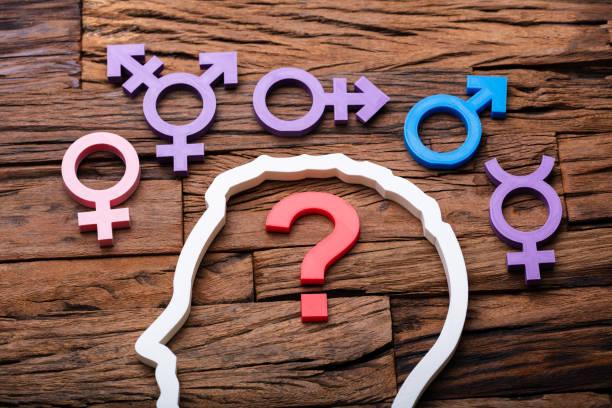 미정 성별 선택 개념 - 성별 뉴스 사진 이미지