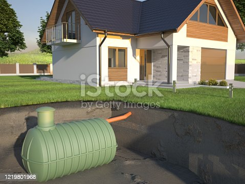 House septic tank system