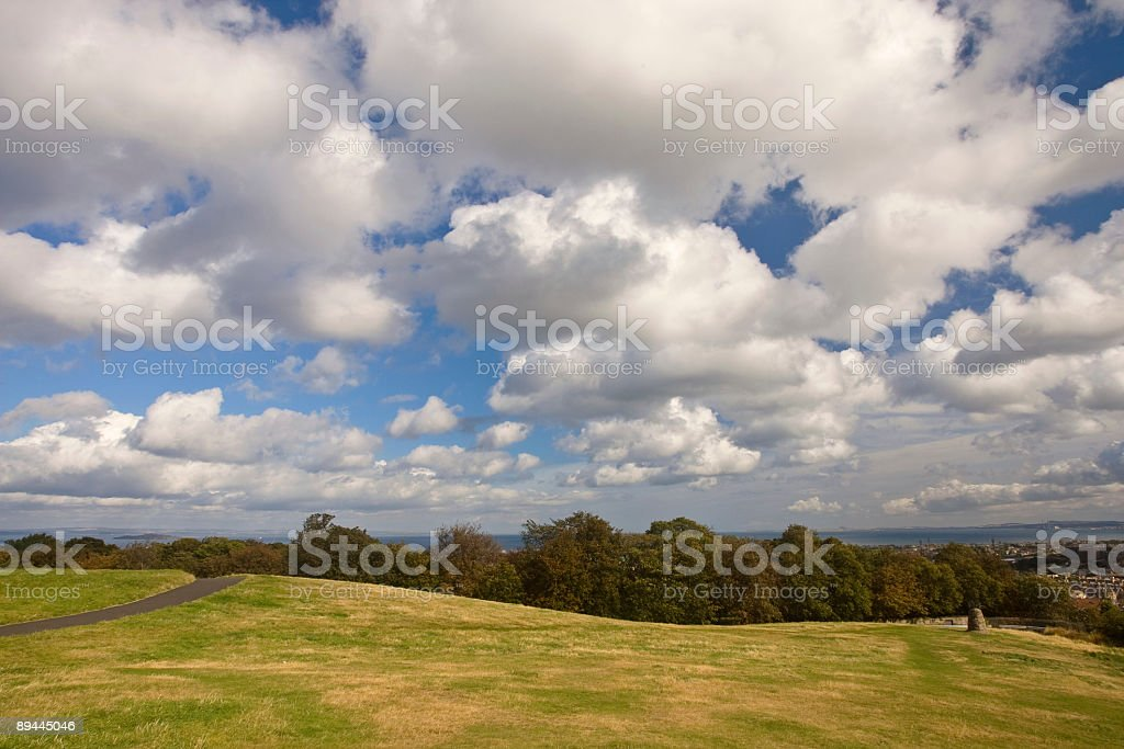 Under a cloudy sky royalty-free stock photo