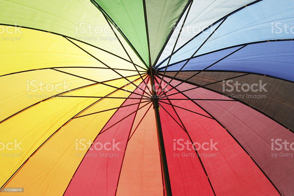 Under an Umbrella royalty-free stock photo