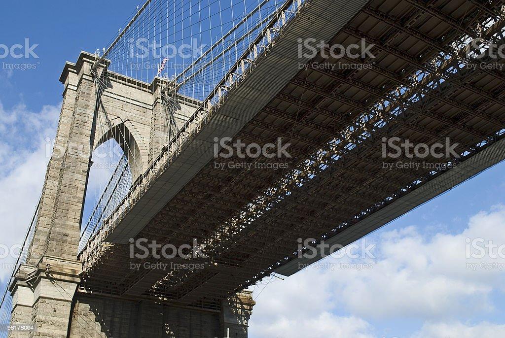 Under Bridge royalty-free stock photo