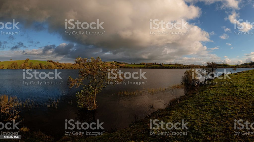 ...Under cloud... stock photo
