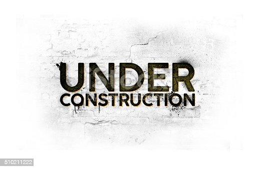 istock Under Construction Background 510211222