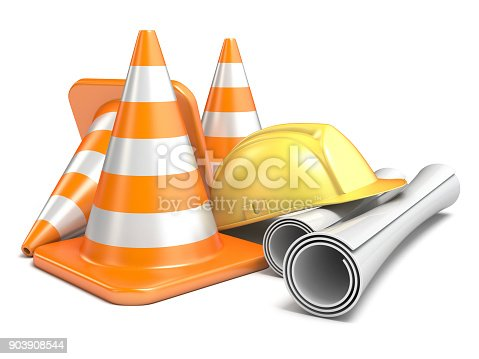 istock Under construction concept 3D 903908544