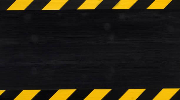 Under construction concept background. Warning tape. – zdjęcie
