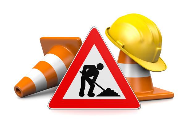 Under Construction Concept stock photo