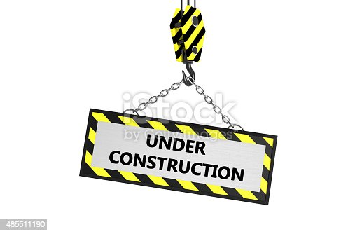 istock Under construction frame 485511190