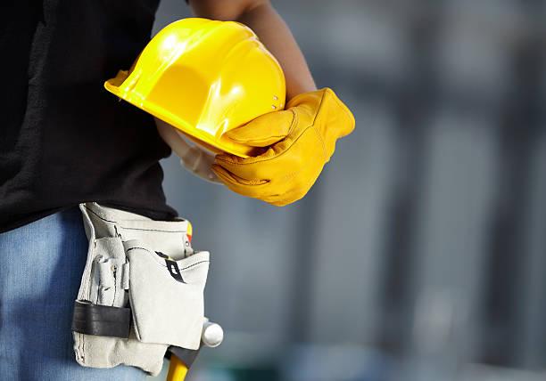 w budowie - kask ochronny odzież ochronna zdjęcia i obrazy z banku zdjęć