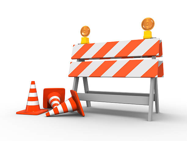 Under construction Under construction boundary stock pictures, royalty-free photos & images