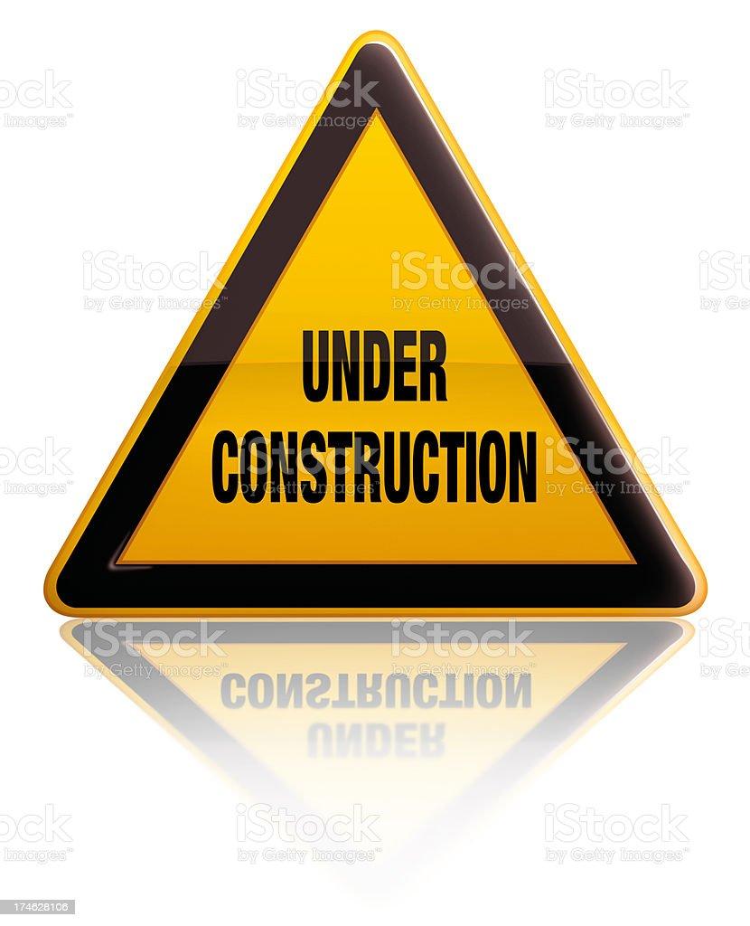 In costruzione - foto stock