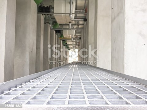 628471550 istock photo Under cooling tower with the support 1163551669