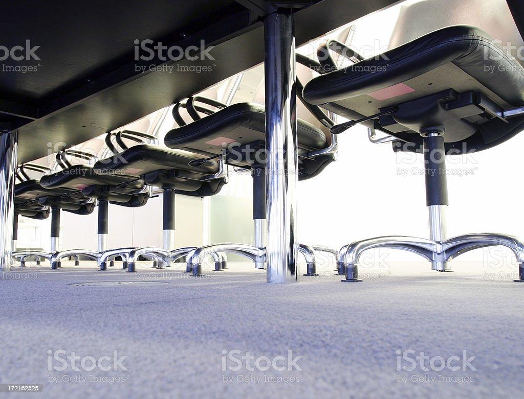 Under desk royalty-free stock photo
