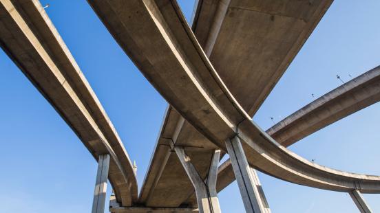 Under Expressway intersection