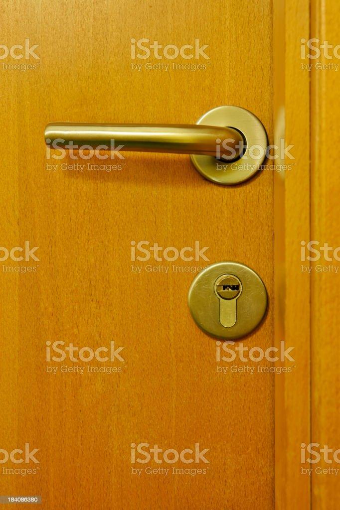 Under lock and key royalty-free stock photo