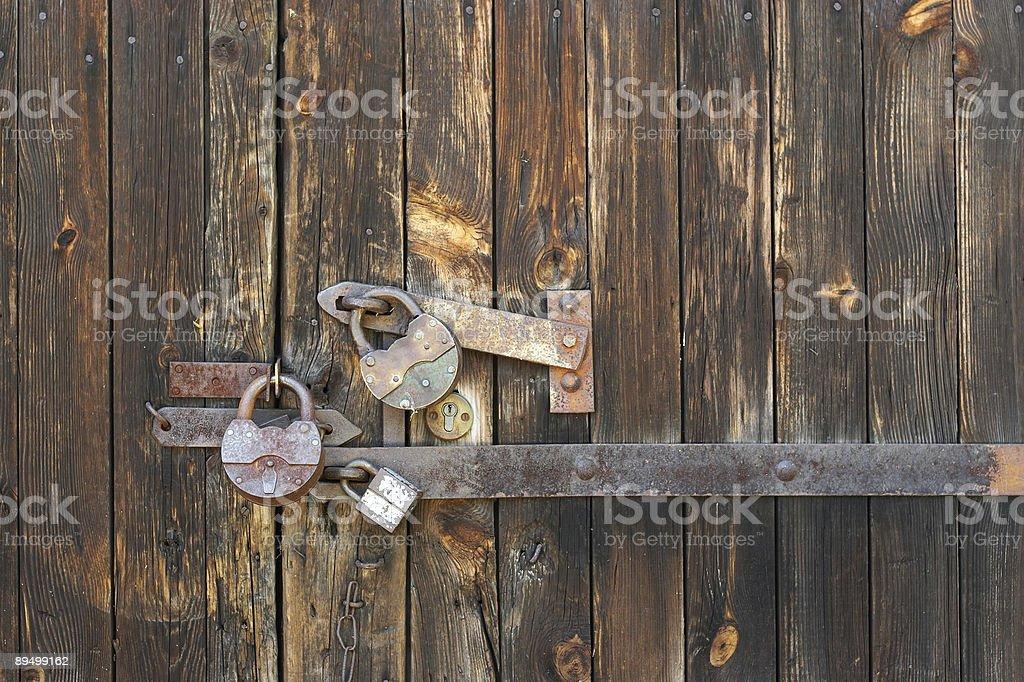 under lock royaltyfri bildbanksbilder