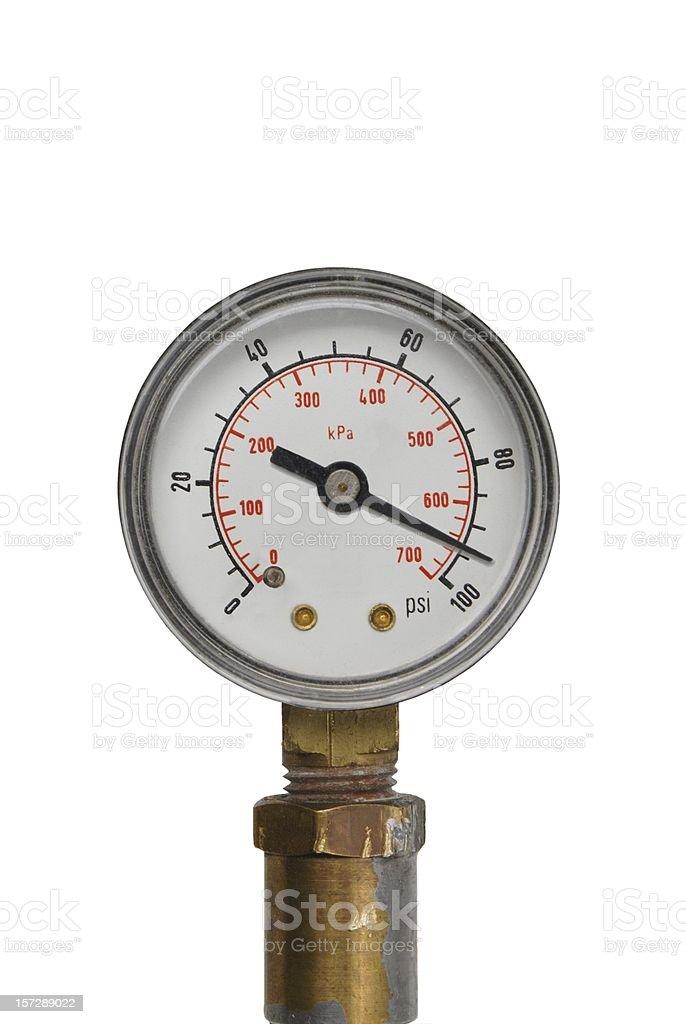 Under pressure stock photo