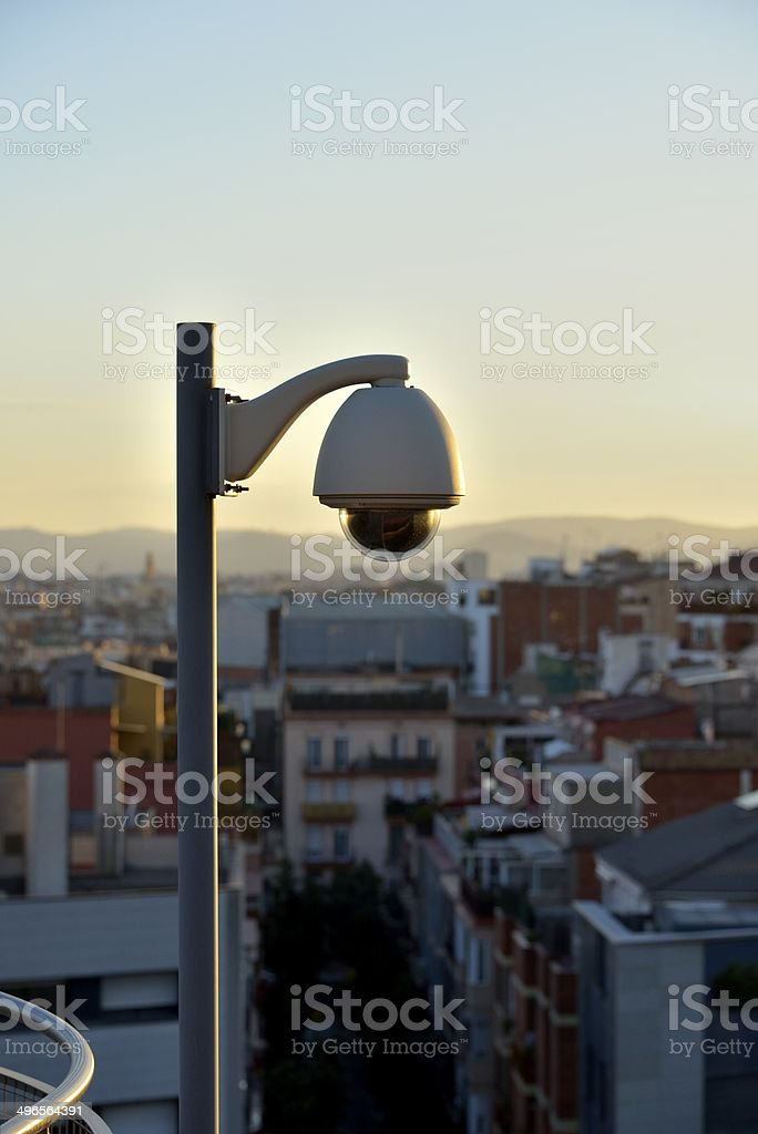 Under Surveillance stock photo