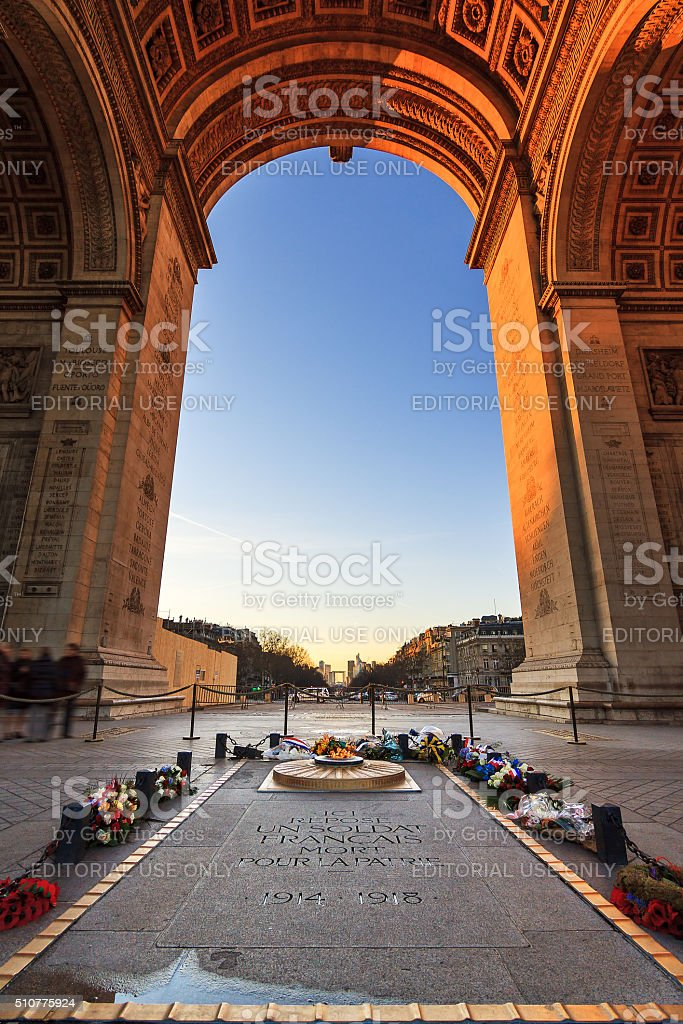 Under the Arc stock photo