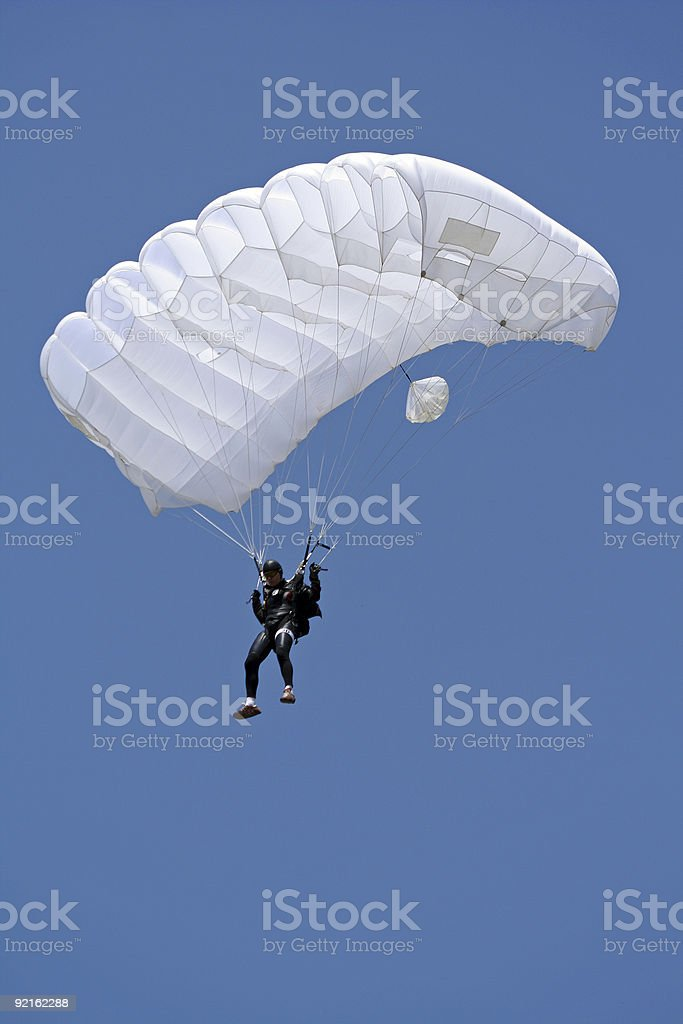 Under the beautiful blue sky royalty-free stock photo
