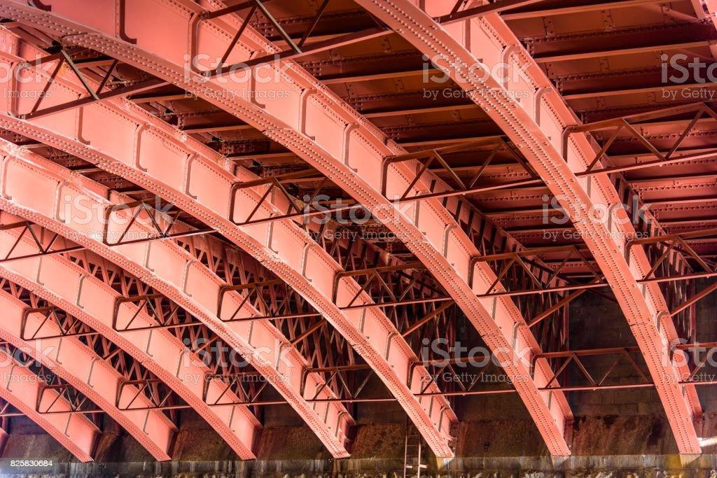 Under the Bridge stock photo