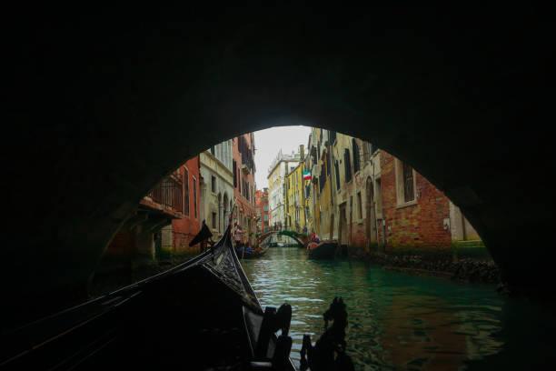 Under The Bridge - Venice Canals stock photo