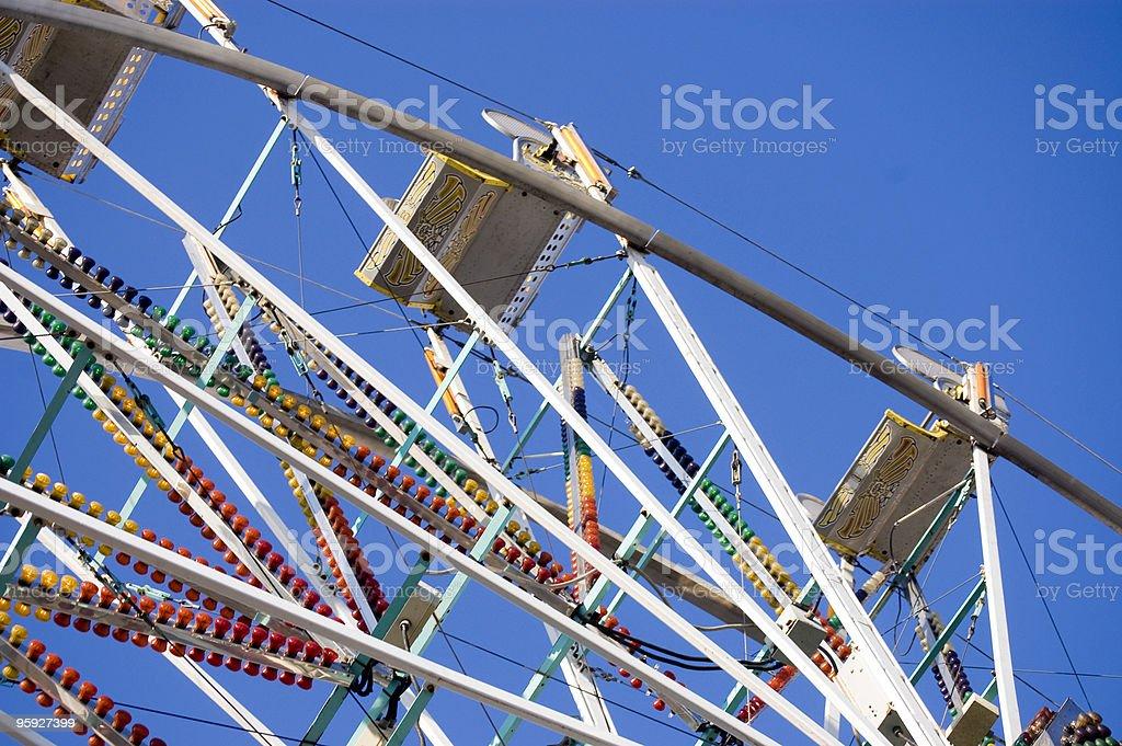 Under the Ferris Wheel stock photo