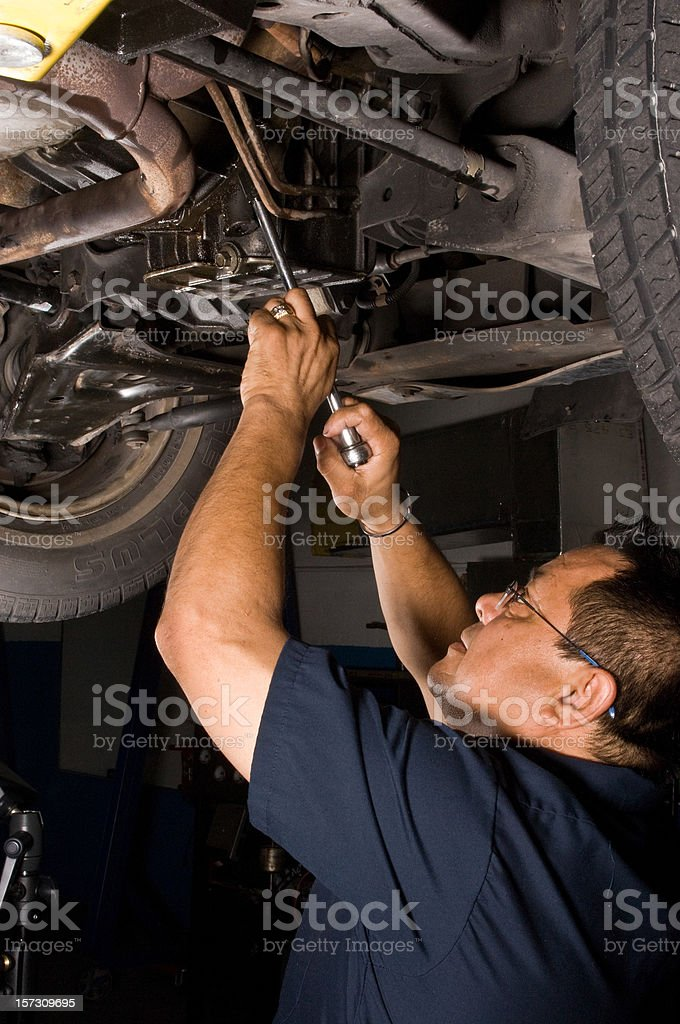 Under the hood royalty-free stock photo