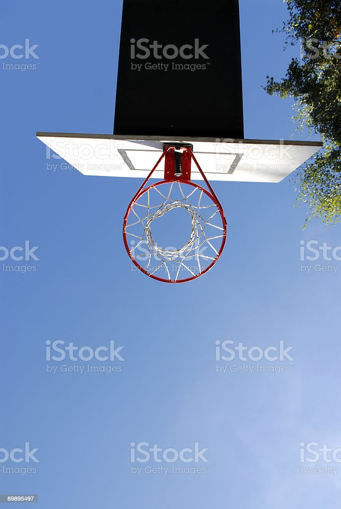 Under the Hoop royalty-free stock photo