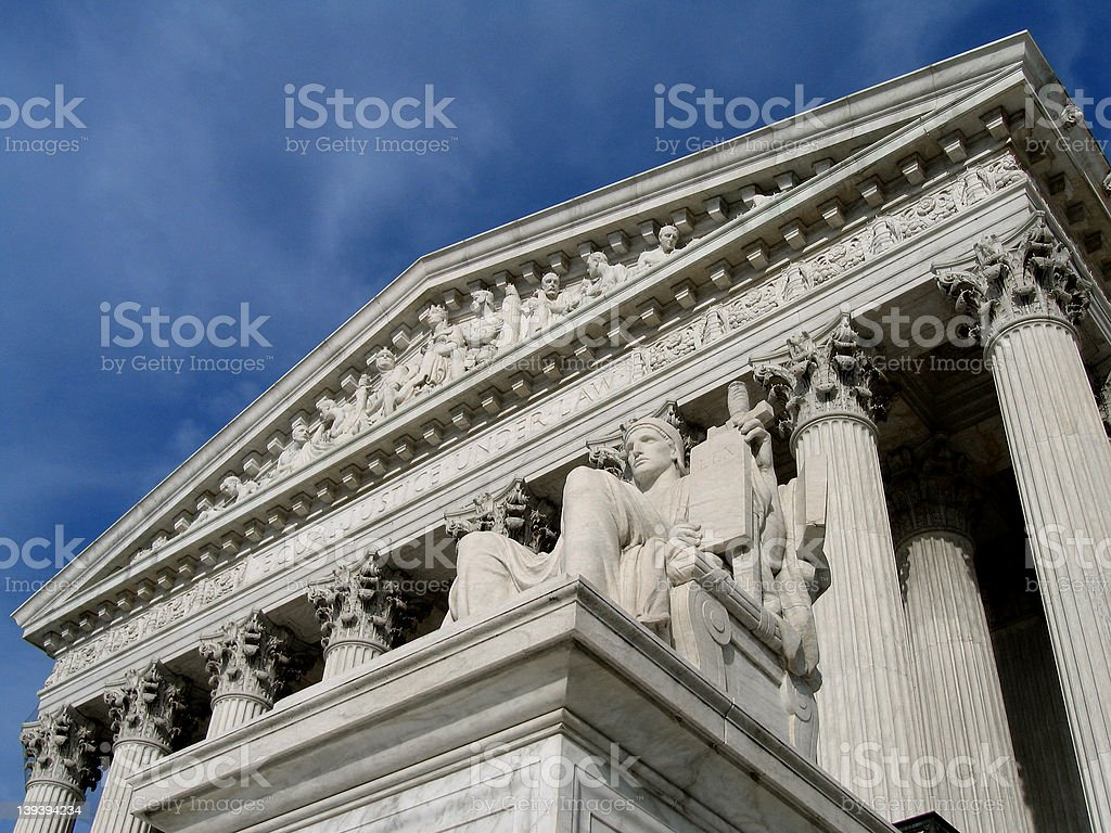 Under the Law royalty-free stock photo