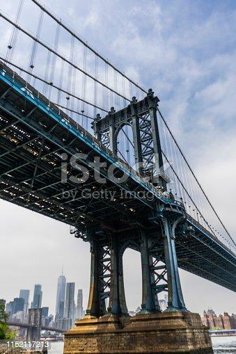 Under The Manhattan bridge in color