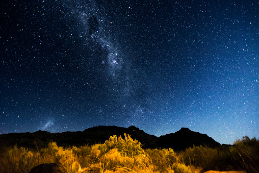 Under The Milky Way Stock Photo - Download Image Now