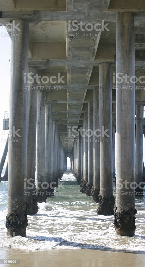 Under the Pier #2 royalty-free stock photo