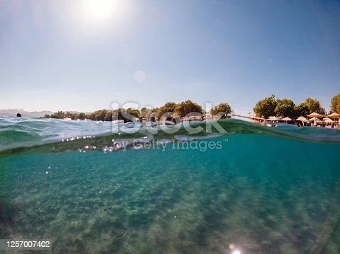 665352250 istock photo Under the sea and Sunbeam 1257007402