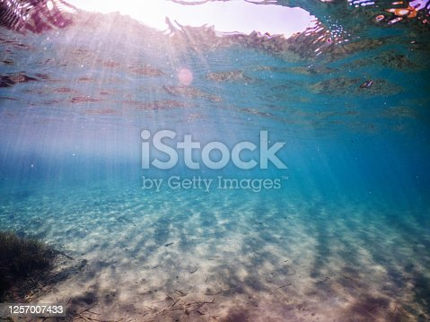 665352250 istock photo Under the sea and Sunbeam 1257007433
