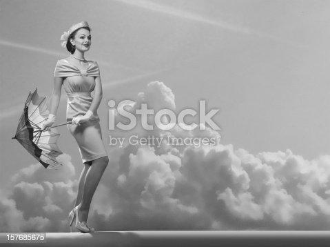 Emulation of vintage style photography.