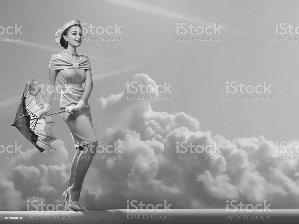 Under the Sky. stock photo