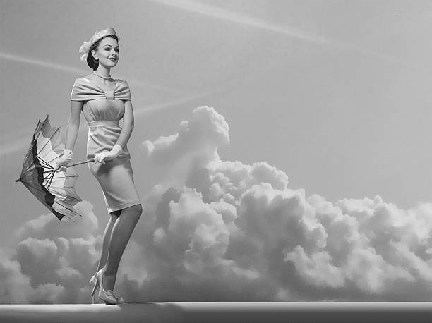 under the sky. - 1940s style stock photos and pictures