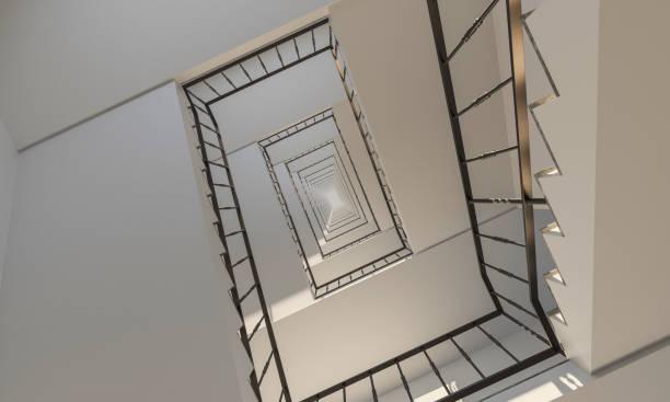 Unter der Treppe hinauf – Foto