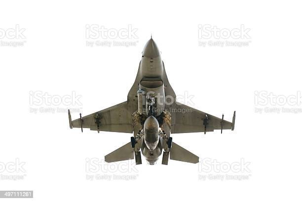 Under View F16 Stock Photo - Download Image Now