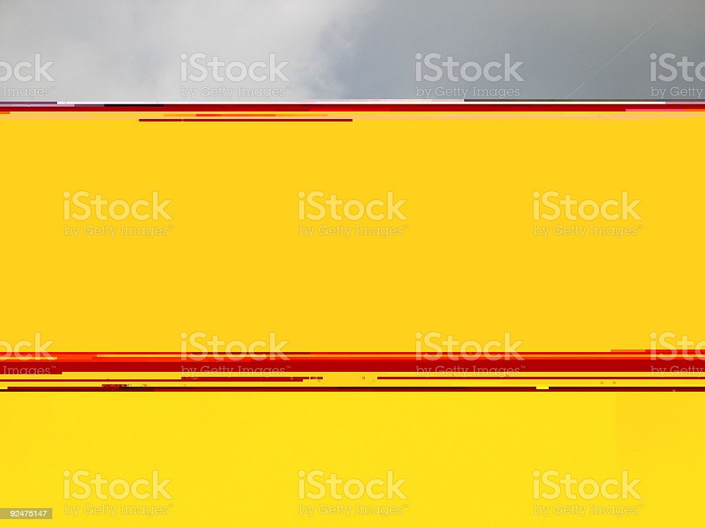 Under water mobile royalty-free stock photo