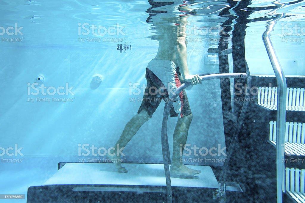 under water treadmill stock photo