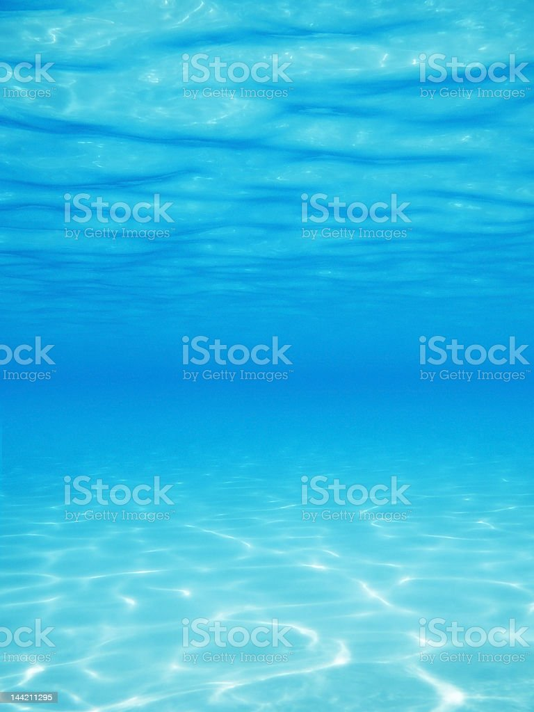 Under Water Vertical stock photo