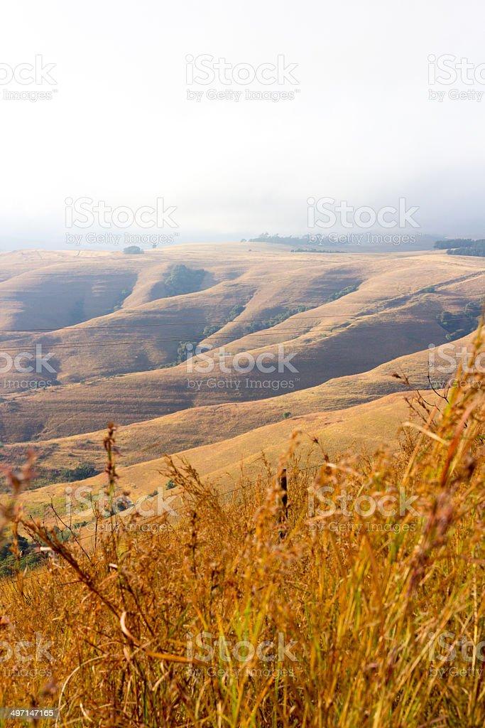 Underberg in KwaZulu-Natal, South Africa royalty-free stock photo