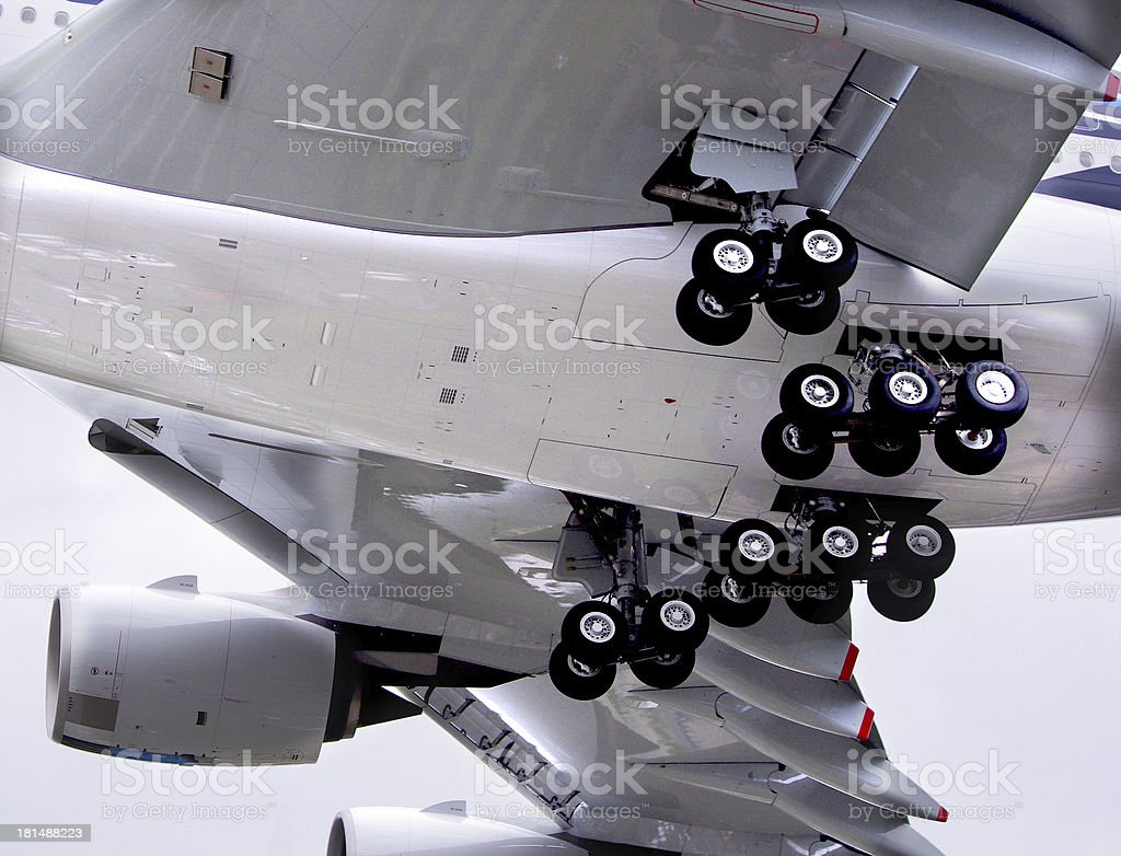 Undercarriage royalty-free stock photo