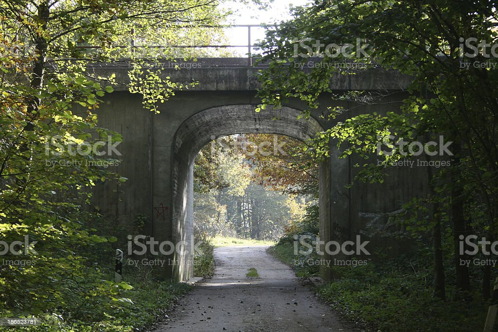 undercrossing royalty-free stock photo
